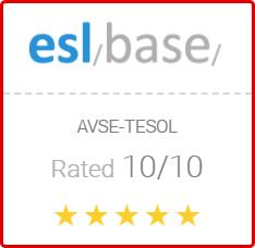 Reviews of AVSE TESOL on Eslbase